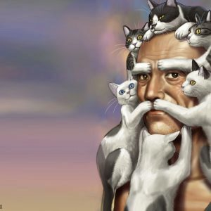 Конфуций и кошки